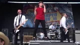 The Interrupters - She Got Arrested / By My Side Live at Vans Warped Tour 2016