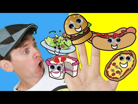 Thumbnail: Finger Family Song - Food Family With Matt | Nursery Rhymes, Children's Songs | Learn English Kids