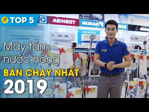 Top 5 máy tắm nước nóng bán chạy nhất 2019 • Điện máy XANH