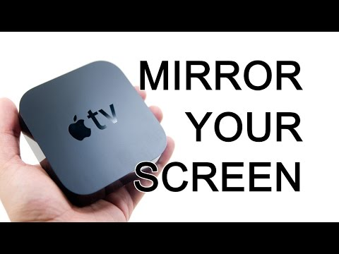 How do i sync my phone to my apple tv with airplay built in tv