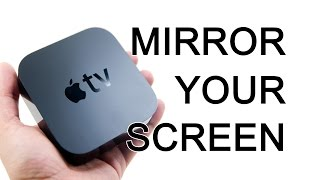 Video Apple TV - How To Mirror Your iPad Or iPhone Screen Onto A TV - The Blind Life download MP3, 3GP, MP4, WEBM, AVI, FLV Agustus 2018