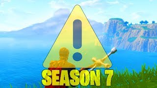 *NEW* SEASON 7 SNOW STORM EVENT! (FORTNITE MAP CHANGES)