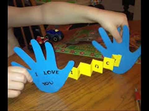 Como hacer el regalo de amor a papa tu corazon simples - Como se hace manualidades ...