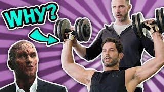 "Tom Ellis ""Lucifer"" Workout DISASTER! 