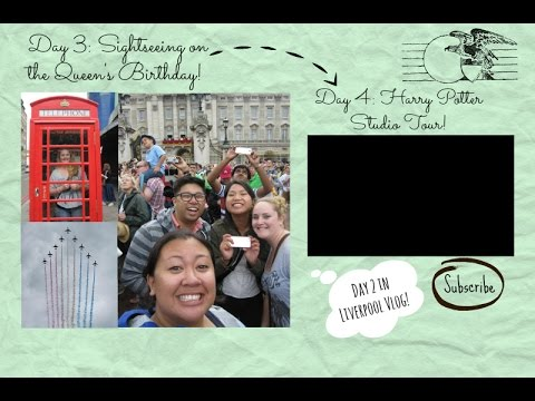 Our London Vlog   Sightseeing & the Queen   Day 3