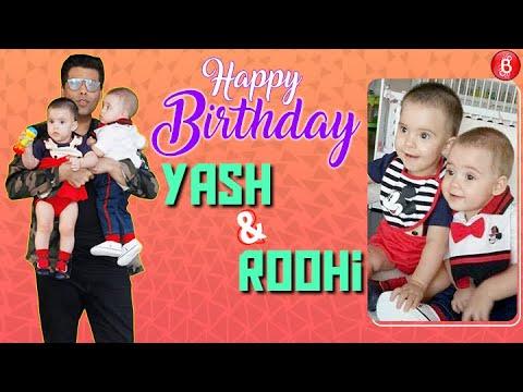 Birthday Special: 9 Adorable Photos Of Karan Johar's Twins, Yash & Roohi Mp3
