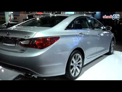 Hyundai Sonata 2010 New York Auto Show Youtube