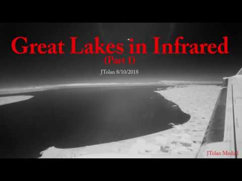 The Great Lakes of North America in Stunning 950nm Infrared, Part 1