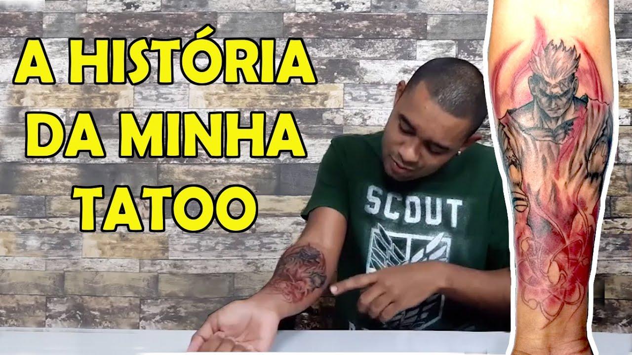 A História da Minha Tatuagem.