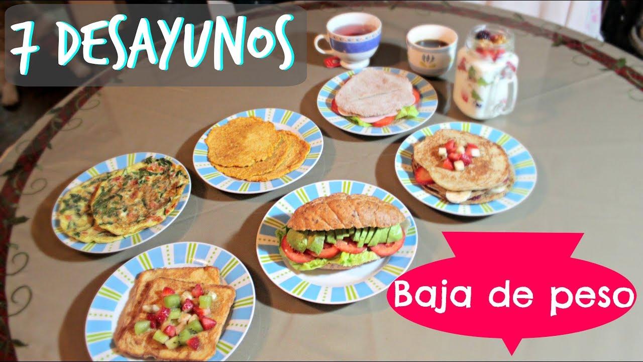 7 desayunos saludables para toda la semana l kariniwiii for Cocina 1 dia para toda la semana