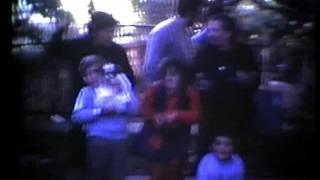 Roberto da bambino nei video di zio Italo.