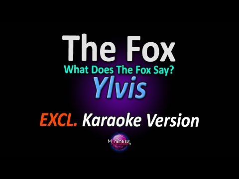 Ylvis - The Fox What Does The Fox Say Karaoke   Instrumental