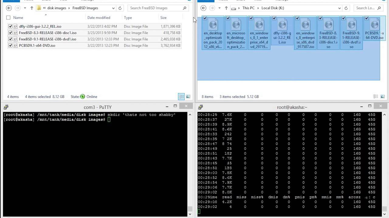 Fun with ARC and ZFS on FreeNAS 9 2 1 3