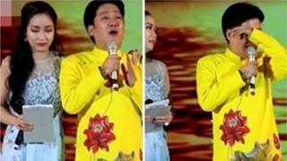 Trường Giang xúc động khóc trên sân khấu, bên dưới khán giả cười ầm ầm - Tin Tức Sao Việt
