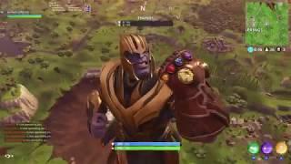 New Fortnite - Avengers Infinity War Gauntlet Gameplay