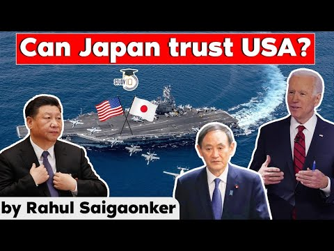 US Japan Relations - Can PM Yoshihide Suga bank on Biden Administration support in countering China?