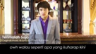 Faisal Rahman - Terimalah Saja (Lirik) Mp3