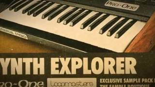Synth Explorer Pro One - Sequential Circuits Pro One Samples Loops - By Loopmasters