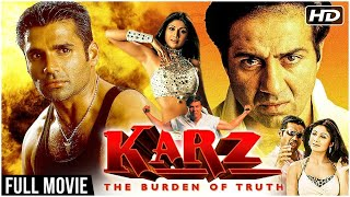 Karz Full Hindi Movie | Sunny Deol, Sunil Shetty, Shilpa Shetty, Ashutosh Rana | Hindi Action Movies