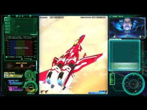 Raiden V: Director's Cut game play |