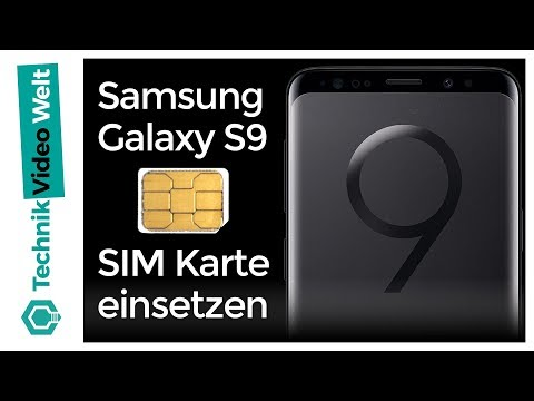 Hd Plus Karte Einlegen.Samsung Galaxy S9 Sim Karte Einsetzen Youtube