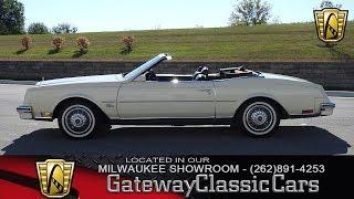 #338-MWK 1985 Buick Riviera CONV
