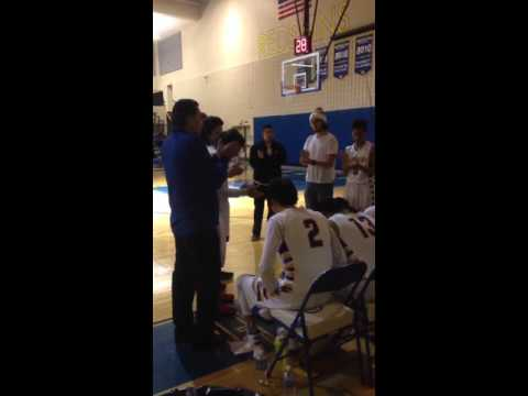 Wellpinit High School Boys Basketball Introductions