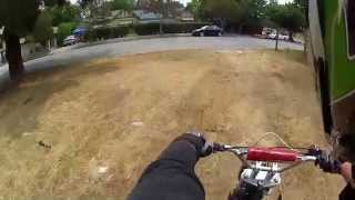 Pit Bike Adventures - EP. 7 - Running From Police Car, Guy Tries To Confront Me, And My Chain Breaks