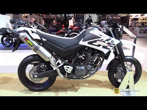 2015 Yamaha XT660X - Walkaround - 2014 EICMA Milan Motorcycle Exhibition