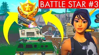 BATTLE STAR 3 - WEEK 3 SEASON 9 SECRET BATTLE STAR LOCATION - FORTNITE