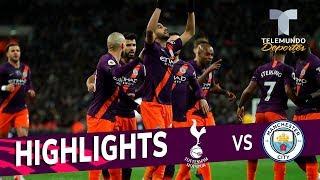 Tottenham vs. Manchester City: 0-1 Goals & Highlights | Premier League | Telemundo Deportes