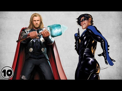 Top 10 Hottest Male Superheroes