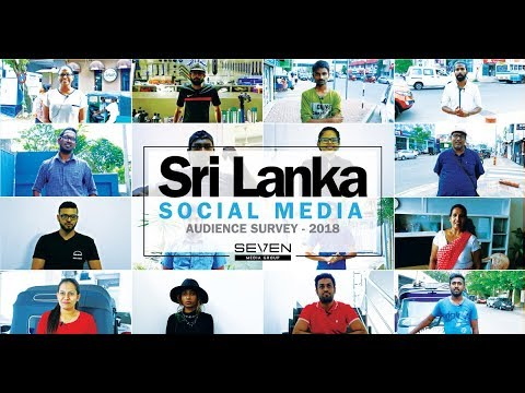 Sri Lanka Social Media Audience Survey 2018
