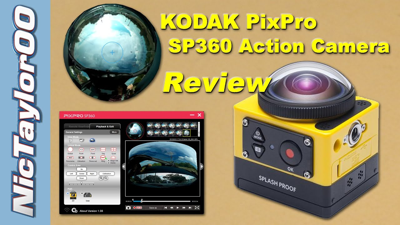 Kodak SP360 Action Camera Drivers