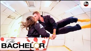 Nick and Vanessas Zero Gravity Date - The Bachelor