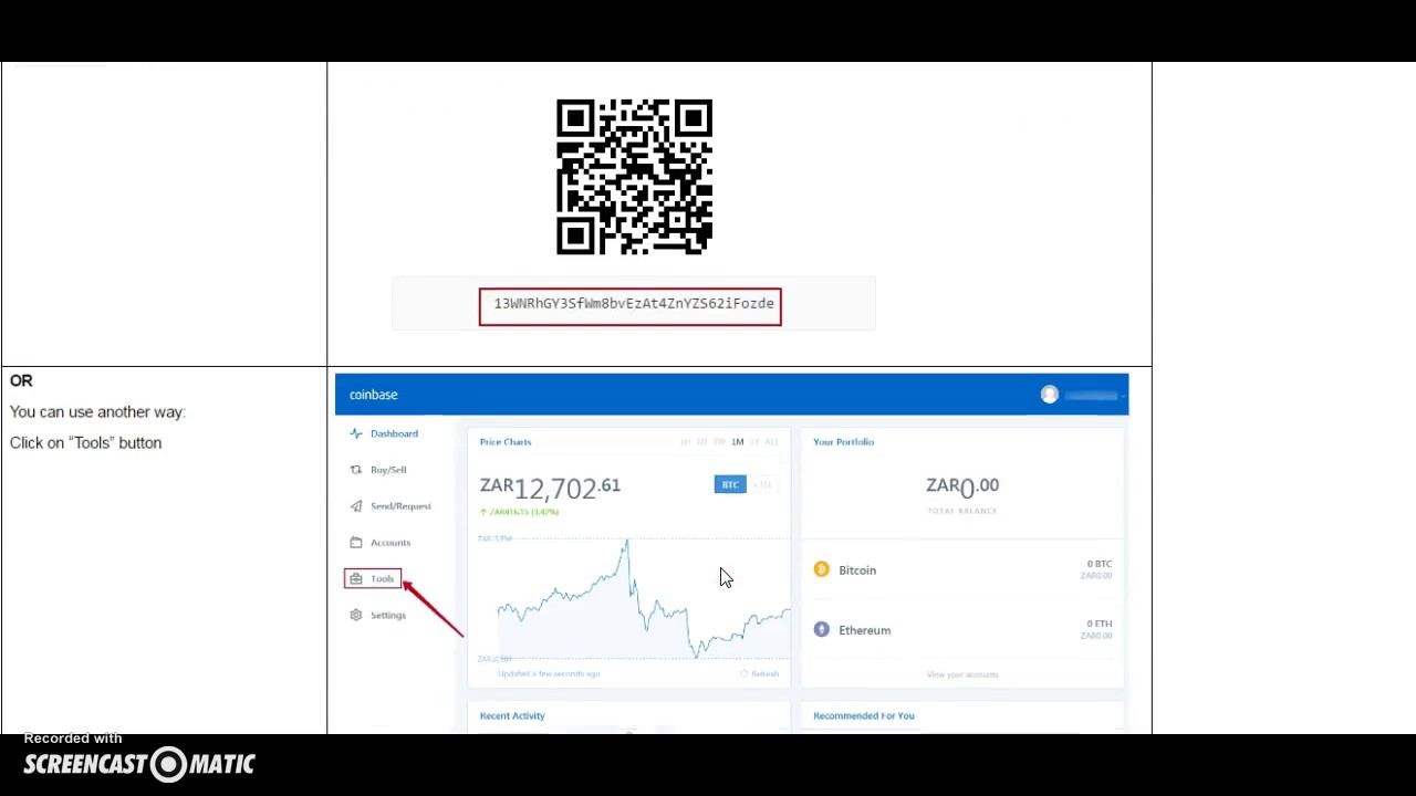 coinbase what is my wallet address