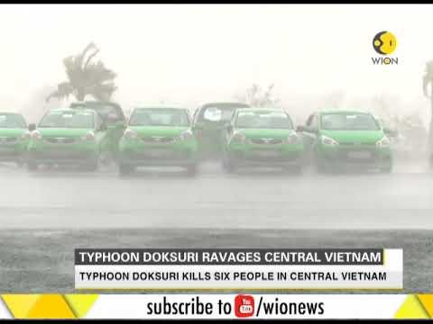 Typhoon Doksuri ravages Central Vietnam