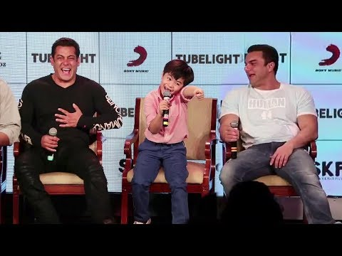 Salman Khan's Most Funny Press Conference With Matin Rey Tangu - MUST WATCH