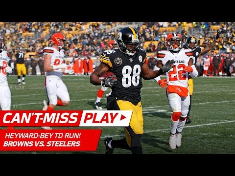 Heyward-Bey Finishes Off Drive w/ Huge TD vs. Cleveland! | Can't-Miss Play | NFL Wk 17