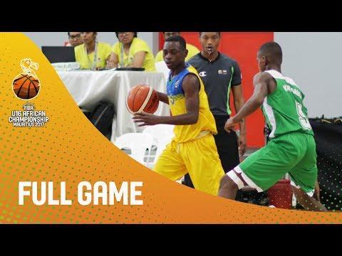 Rwanda v Madagascar - Full Game - FIBA U16 African Championship 2017