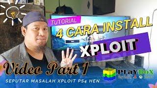 CARA AKTIVASI OFFLINE PS4 HEN 1.8 - PART 1 (Cara ke 1 Web Server Al-Azif) FREE XPLOIT
