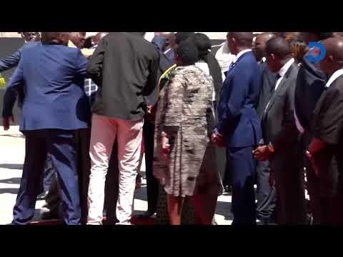 Senator Kihika's confrontation with President Uhuru's security