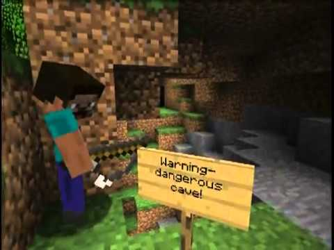 Minecraft: Creeper Chases Steve into the Real World!