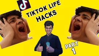 We tested viral TIKTOK life hack..... Part 1