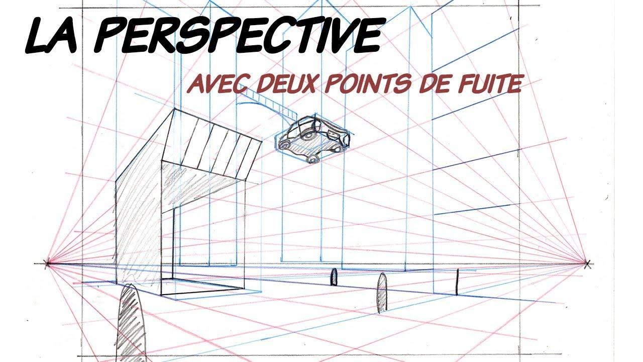 Comment dessiner les perspectives 2 points de fuite