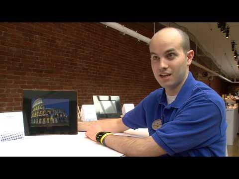 "Insignia 10"" LCD Digital Photo Frame - NS-DPF10PR Beige/Black at Best Buy"