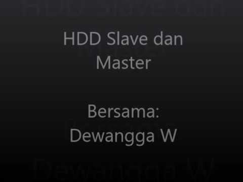 Presentasi Harddisk Slave & Master Dasar Komputer