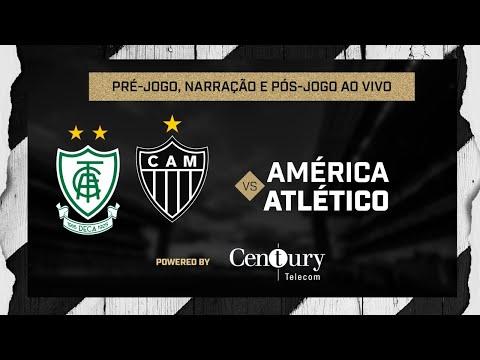 América x Atlético: pré-jogo, narração e pós-jogo.