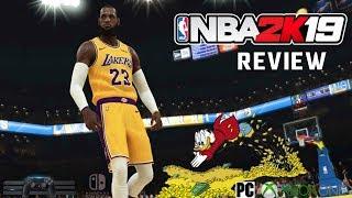 NBA 2K19 Review | PS4 Pro NBA 2K19 Game Review | Xbox One / PC / Switch | Cash Grab?