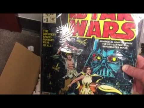 Classic Comic Books: Star Wars Oversized - 1978, John Carter of Mars No. 2, Marvel Westerns